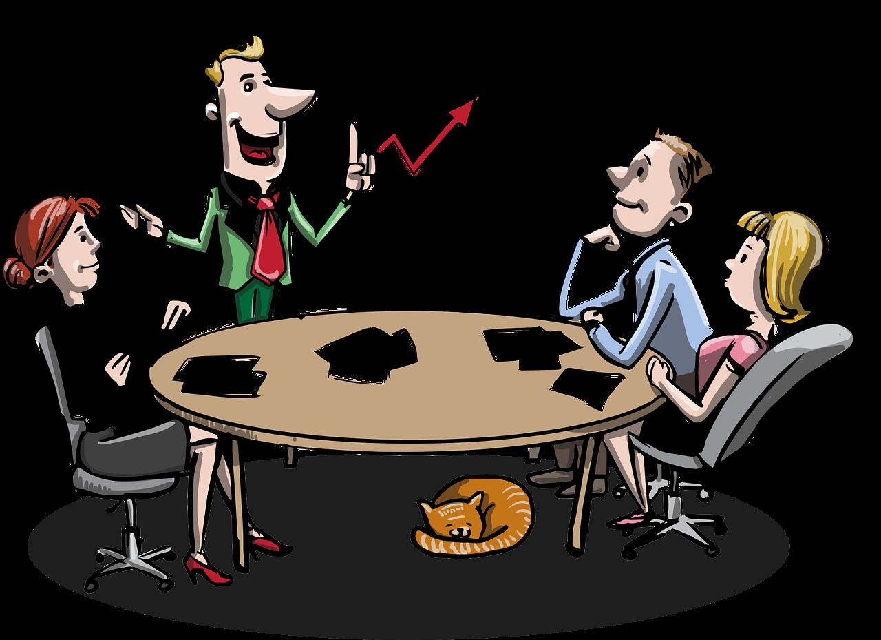 meeting 1453895 1280 - 8 consejos para redactar el Quiénes Somos de tu web
