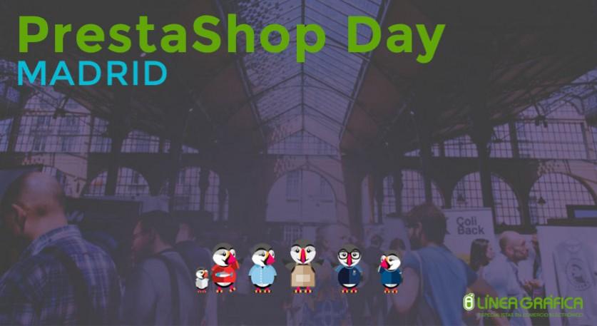 Línea Gráfica en el PrestaShop Day, 12 de Mayo en Madrid