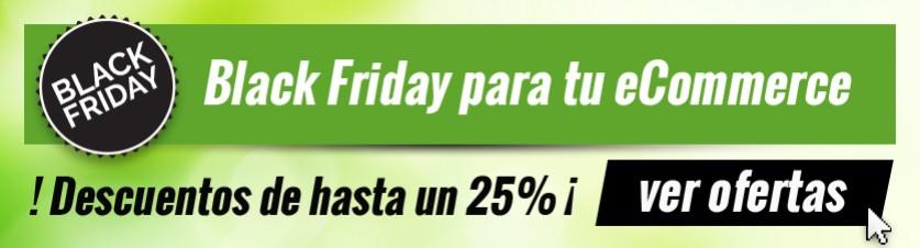 Grandes descuentos Black Friday para tu eCommerce