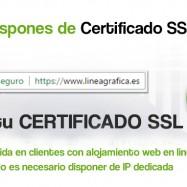 Certificados de Seguridad SSL desde sólo 14€/año