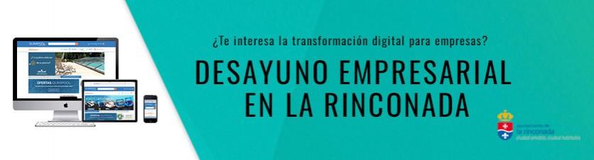 Te esperamos en el Desayuno Empresarial de La Rinconada