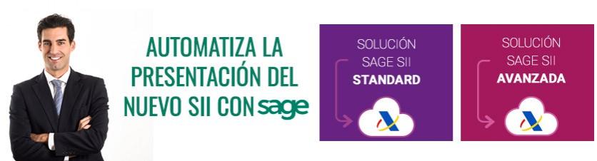 Automatiza la presentación del nuevo SII con Sage