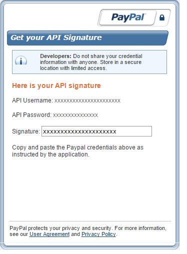API PayPal PrestaShop