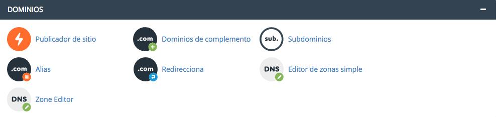 Subdominios cPanel