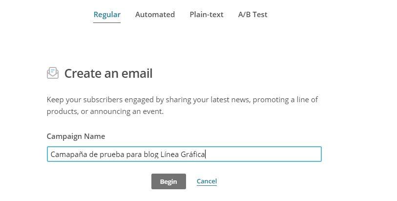 newsletter mailchimp prestashop