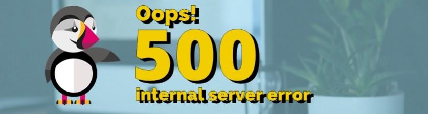 ¿Error 500 en PrestaShop? Te enseñamos cómo solucionarlo