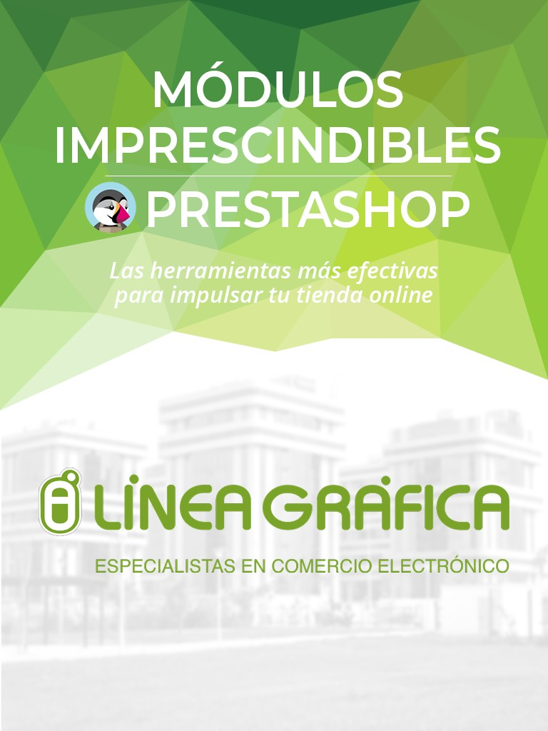 Ebook PrestaShop módulos Linea Grafica