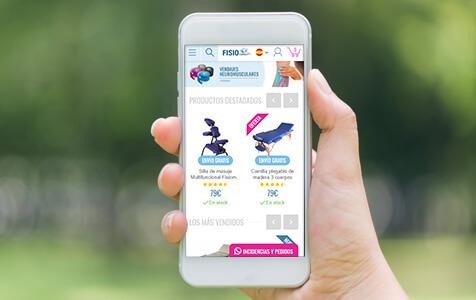 portfolio fisiomarket - E-commerce with PrestaShop