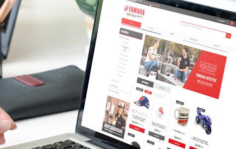 portfolio yamaha - E-commerce with PrestaShop