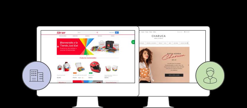 infografia b2b b2c - E-commerce with PrestaShop