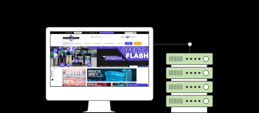 infografia hosting - E-commerce with PrestaShop