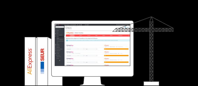 infografia modulos - E-commerce with PrestaShop