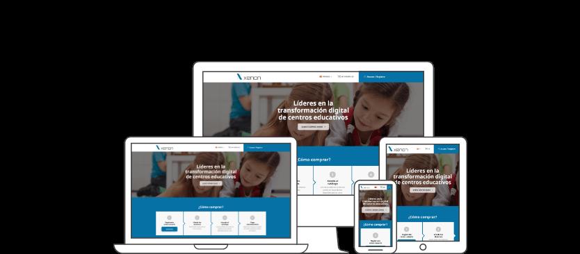 infografia responsive - E-commerce with PrestaShop